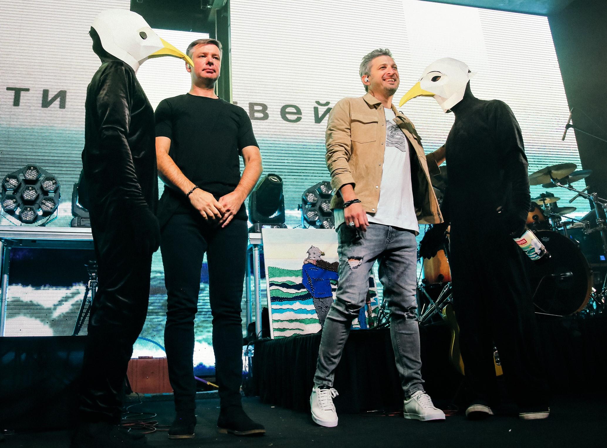 Презентация нового альбома в Москве.