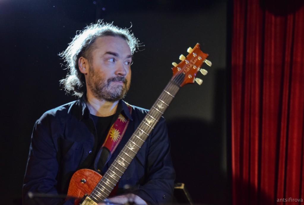 Максим Леонов - новый гитарист Ундервуда.